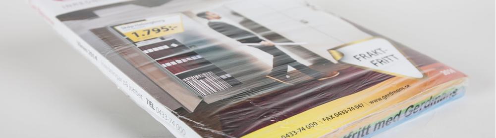 <h2>Katalog Gerdmans</h2> Katalog mit Fußstempeldruck und in Folie eingeschweißt