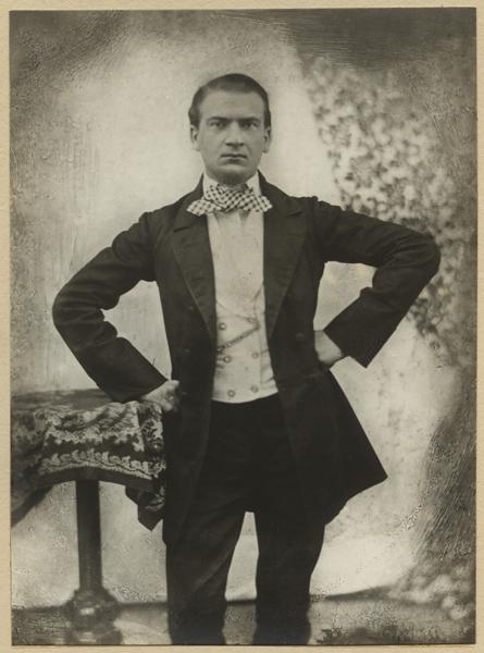 Der Firmengründer Hermann Wennberg im Jahre 1860