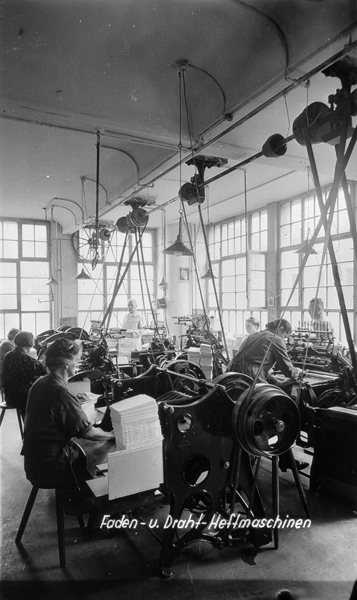 Faden- und Draht-Heftmaschinen