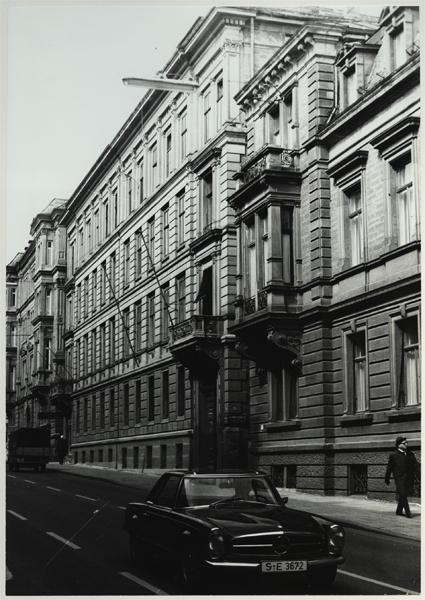 Bürogebäude in der Reinsburgstraße Stuttgart
