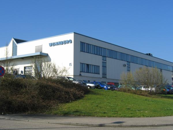 Vaihingen/Enz wird 1994 neuer Firmensitz